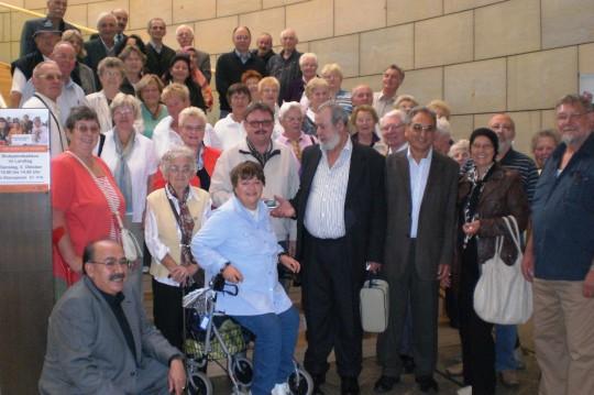 Besuchergruppe vom Remscheider Honsberg