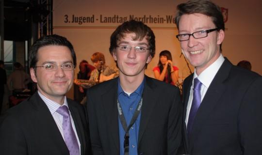 Justizminister Thomas Kutschaty, Tobias Günther, Sven Wolf