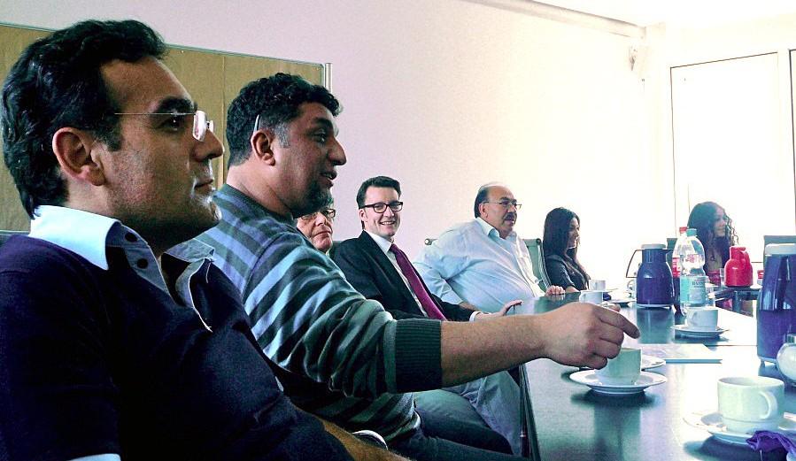 Besuchergruppe: Freundschaftsverein Kırşehir-Remscheid e.V.