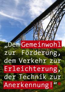 Zitat zur Müngstener Brücke