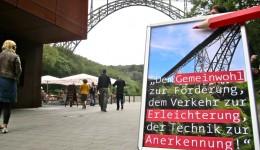 Ein in Vergessenheit geratenes Zitat zur Fertigstellung der Müngstener Brücke