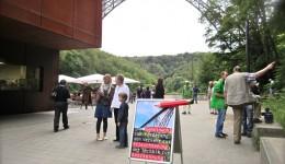 Die Aktion wurde von der Remscheider SPD, den Grünen und dem VCD unterstützt