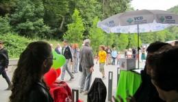 Ca. 700 Besucher fanden den Weg in den Brückenpark