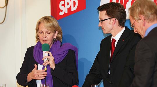 Hannelore Kraft und Sven Wolf in Remscheid
