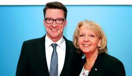 Hannelore Kraft mit Sven Wolf