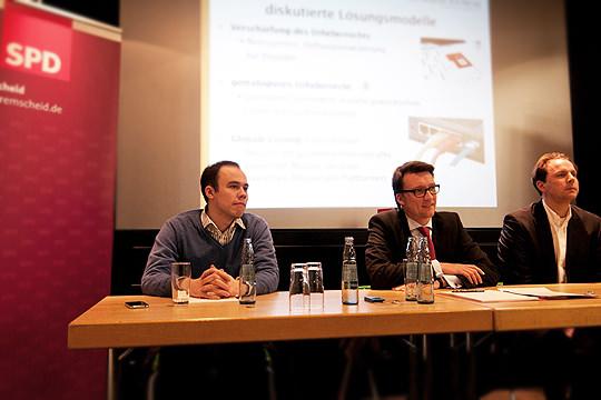 Henning Tillmann, Sven Wolf und Christian Solmecke