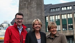 Sven Wolf, Hannelore Kraft, Beate Wilding
