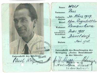 Paul Wolf Bewegung freies Deutschland