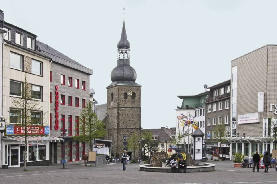 Evangelische Stadtkirche Remscheid, Foto: Hans Peter Schaefer, CC BY-SA 3.0, Wikipedia