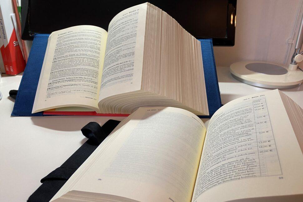 Vorbereitung Jurastudium